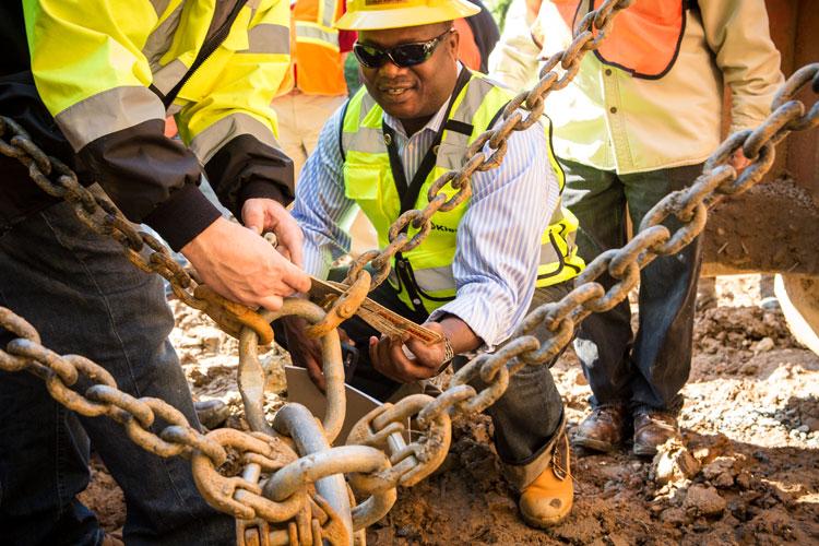 OSHA professionals working on jobsite