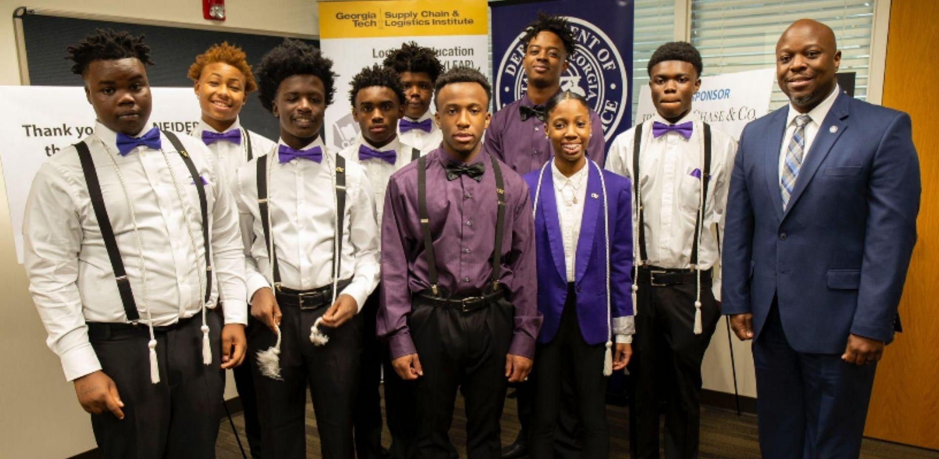 Chatham Education Transition Center students at LEAP graduation
