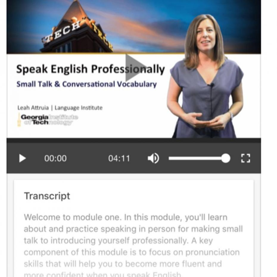 Language App Helps with Business Communication image