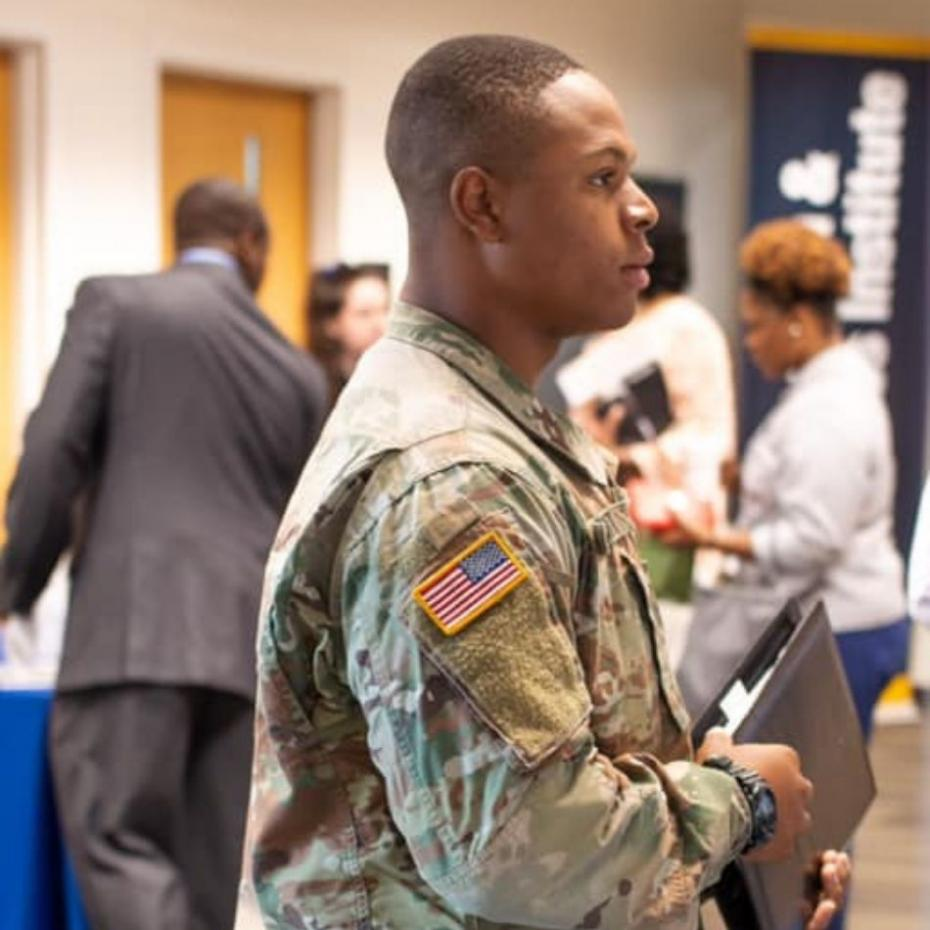 Georgia Tech-Savannah Hosts Largest Career Fair for Military Personnel image