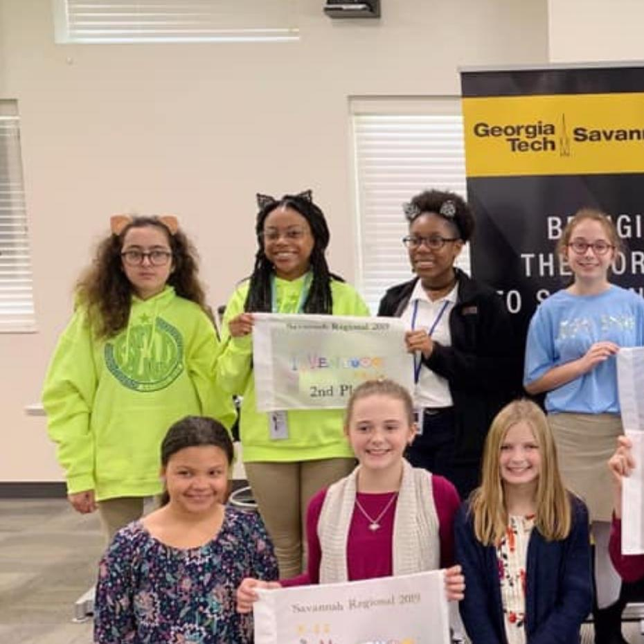 Savannah Students Put Their Heads Together for K-12 InVenture Prize Competition image